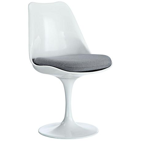 Lippa Modern Gray Dining Side Chair