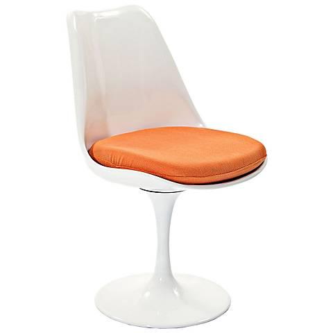 Lippa Modern Orange Dining Side Chair