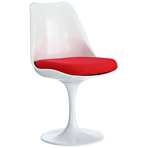 Lippa Modern Red Dining Side Chair