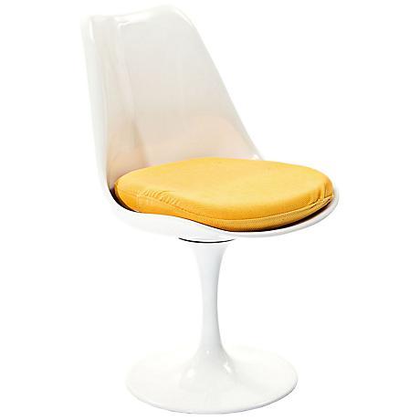 Lippa Modern Yellow Dining Side Chair