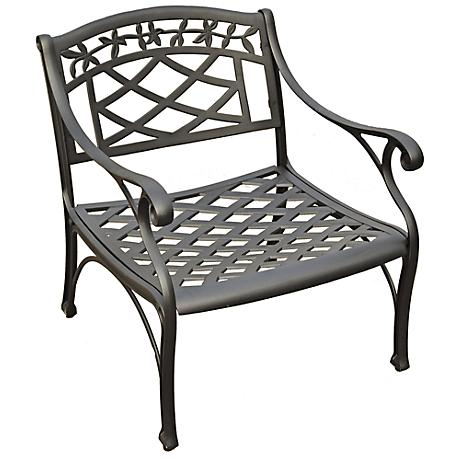 Sedona Charcoal Black Outdoor Club Chair
