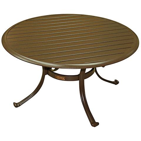 Panama Jack Island Breeze Round Patio Coffee Table
