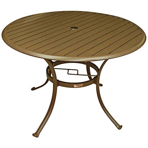 Panama Jack Island Breeze Round Patio Dining Table
