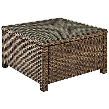 Biltmore Outdoor Wicker Sectional Coffee Table