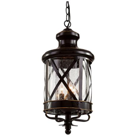 New England 25 1 4 Quot H Oil Rubbed Bronze Outdoor Wall Light
