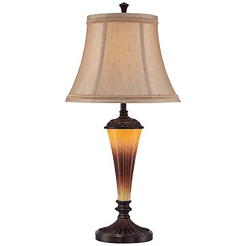 Lite Source Chelsey Bronze Night Light LED Table Lamp