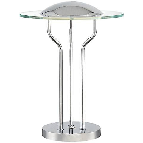 "Lite Source 18"" High Domani Touch LED Accent Table Lamp"