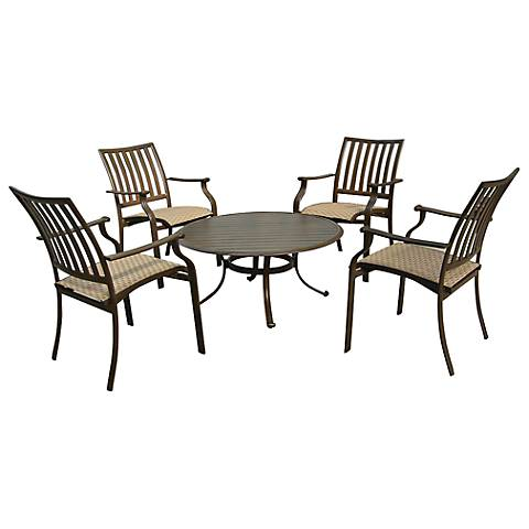 Panama Jack Island Breeze 5-Piece Patio Gathering Set