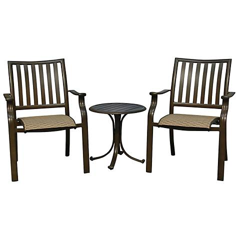 Panama Jack Island Breeze 3-Piece Balcony Seating Set
