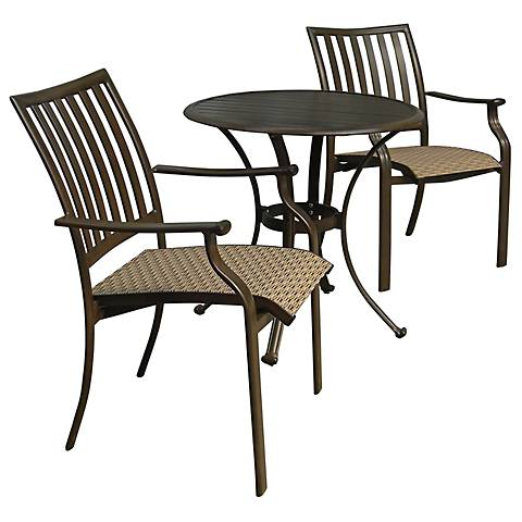 Panama Jack Island Breeze 3-Piece Patio Bistro Set