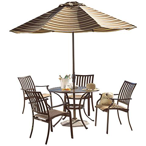 Panama Jack Island Breeze 5-Piece Patio Dining Set