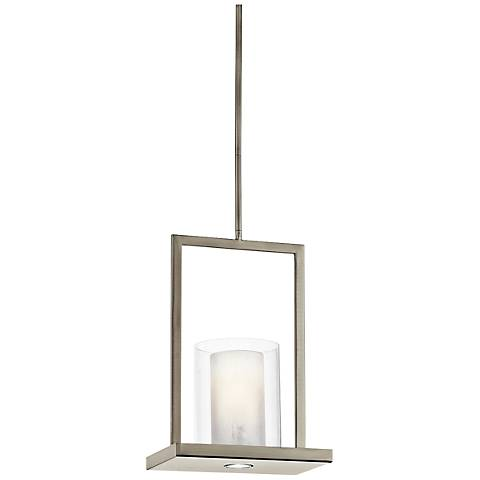 "Kichler Triad 12"" Wide Classic Pewter Mini Pendant"