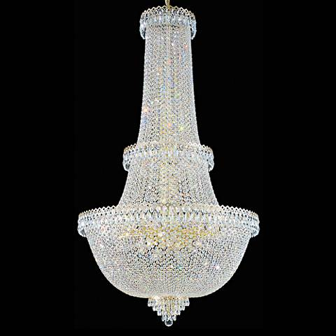 "Schonbek Camelot 34""W Aurelia 57-Light Crystal Chandelier"