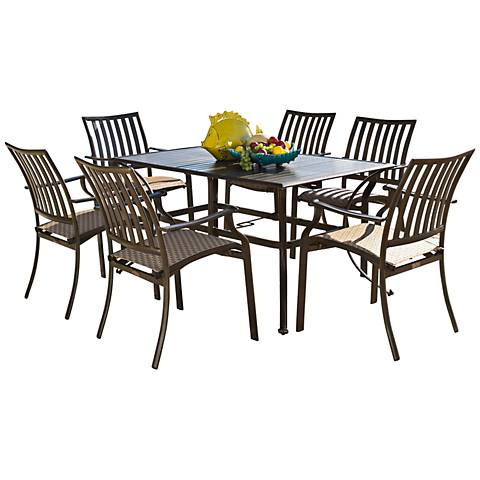 Panama Jack Island Breeze 7-Piece Patio Dining Set
