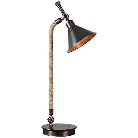 Uttermost Duvall Oxidized Bronze Task Desk Lamp