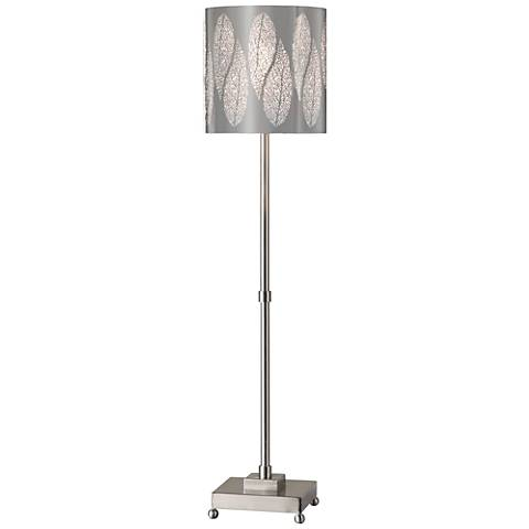 Uttermost Fronda Brushed Nickel Buffet Table Lamp