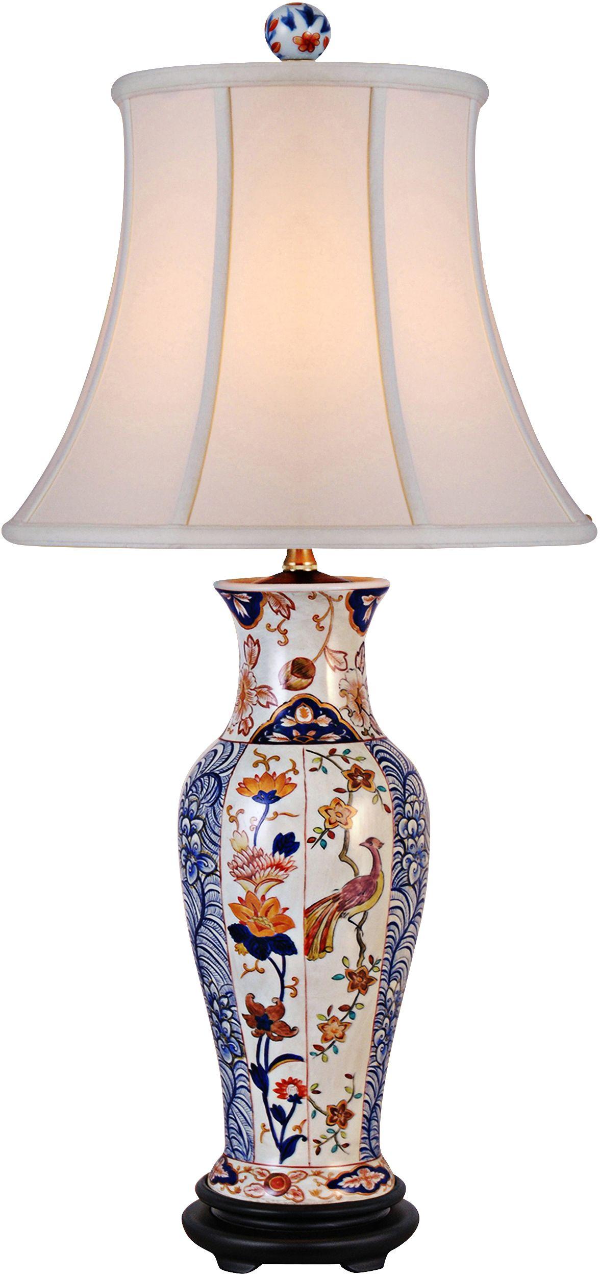 Elliana Multicolor Porcelain Table Lamp