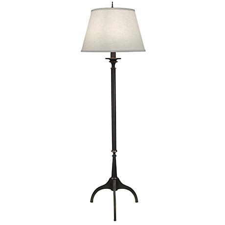 Wittrock Tripod Oxidized Bronze Floor Lamp 7n757