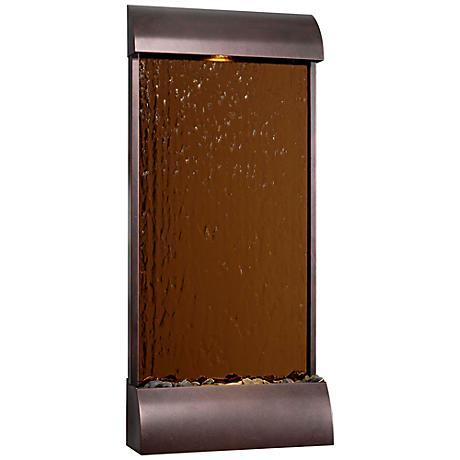 Kenroy Home Aspen Copper Mirror Floor Fountain