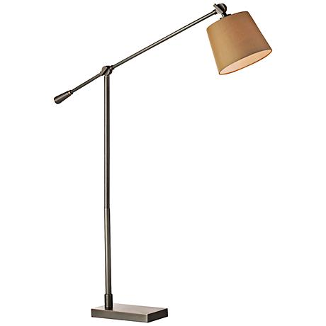Seberg Bronze Adjustable Task Floor Lamp