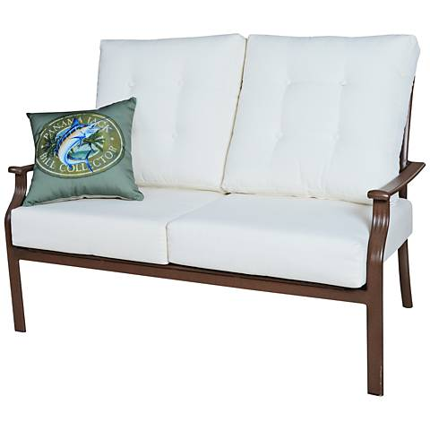 Panama Jack Island Breeze Cushioned Patio Loveseat
