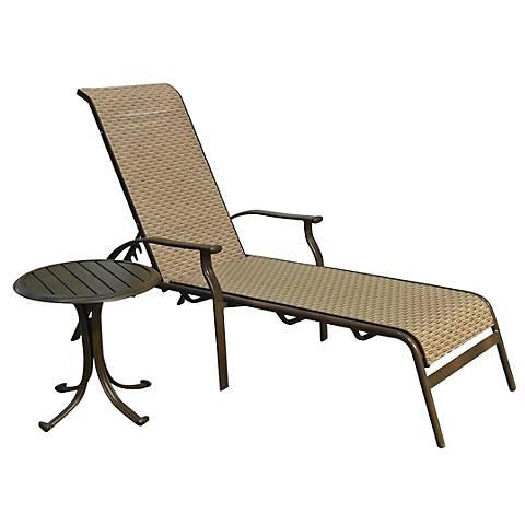 Panama Jack Island Breeze 2-Piece Patio Chaise Lounge Set