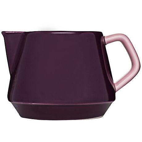 POP Purple and Pink Stoneware Milk Jug
