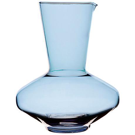 Spectra Blue Glass Carafe