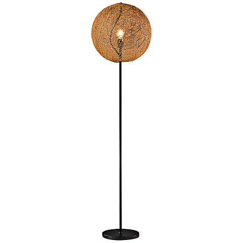 Arbor Twisted Vine 9 Light Rust Floor Lamp Y7871 Lamps Plus