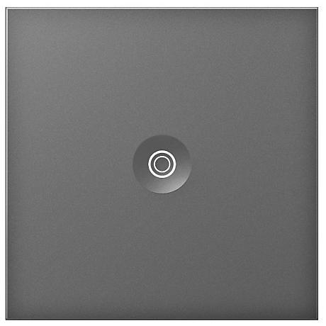 adorne® Magnesium 15A Push Switch with Status Light