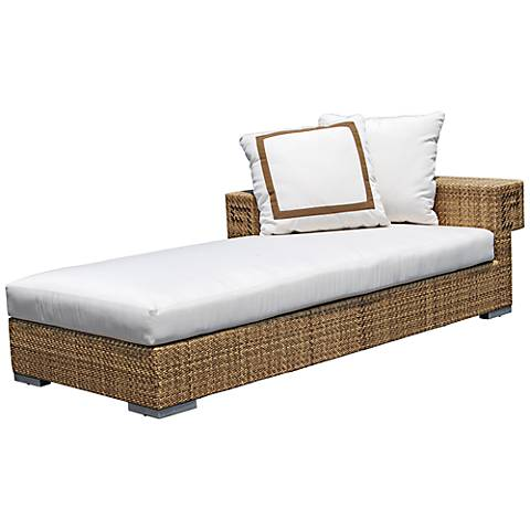 Dann Foley Hollywood Outdoor Sectional Left-Facing Chaise