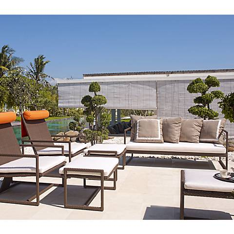 Dann Foley Malibu Chocolate 6-Piece Outdoor Seating Set