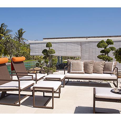 Dann Foley Malibu Chocolate 6-Piece Outdoor Seating Set