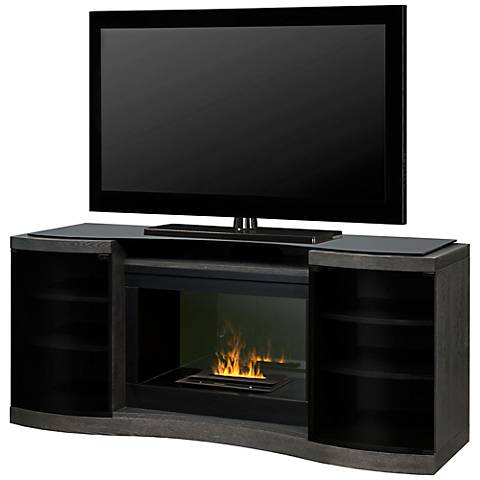 Quintus Opti-Myst Media Console Fireplace