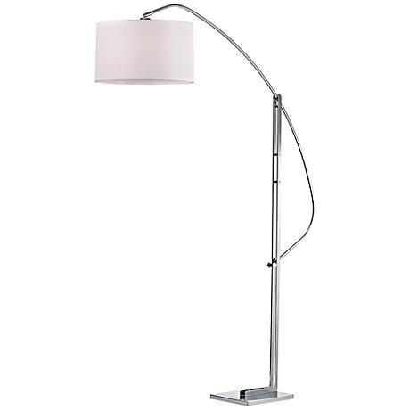 Dimond Assissi Polished Nickel Adjustable Floor Lamp