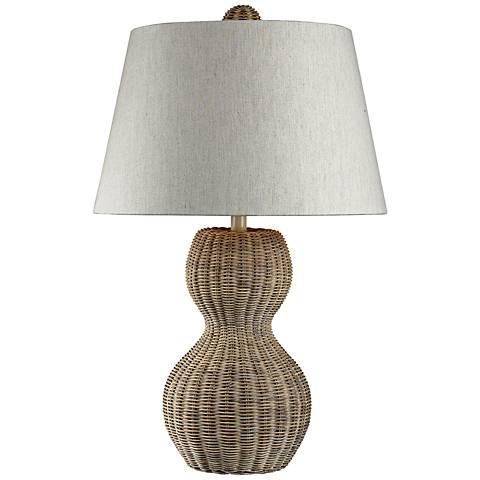 Dimond Sycamore Hill Rattan Table Lamp