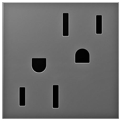 adorne® Magnesium 20A Tamper-Resistant Outlet