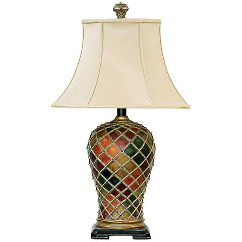 dimond joseph bellevue multi table lamp 7r035 lamps plus. Black Bedroom Furniture Sets. Home Design Ideas