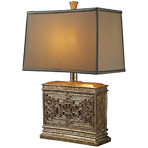 Dimond Laurel Run Courtney Gold Table Lamp