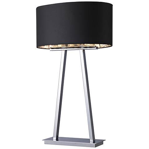 Central Park Empire Chrome 2-Light Table Lamp