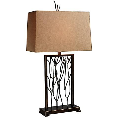Dimond Belvior Park Aria Bronze Modern Table Lamp
