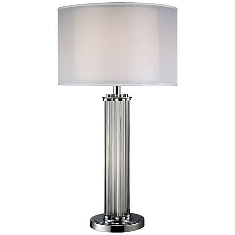 Dimond Hallstead Chrome Table Lamp