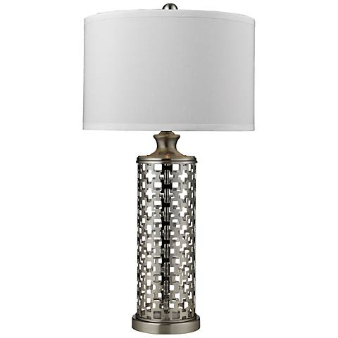 Dimond Medford Brushed Nickel Table Lamp