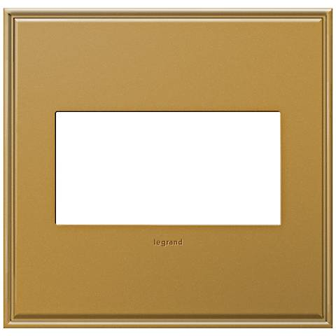 adorne® 2-Gang Cast Metal Antique Bronze Wall Plate