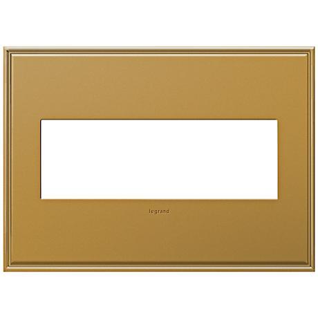 adorne 3 gang cast metal antique bronze wall plate 7r190 lamps plus. Black Bedroom Furniture Sets. Home Design Ideas