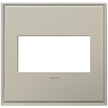 adorne® Cast Metal 2-Gang Antique Nickel Wall Plate