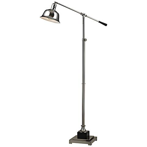 Dimond Freemanburg Polished Nickel Adjustable Floor Lamp