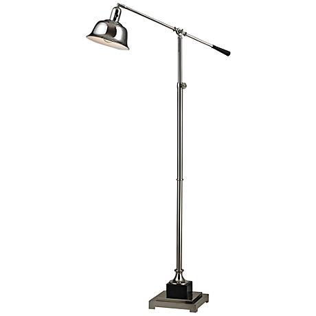 Dimond Freemanburg Polished Nickel Adjustable Floor Lamp