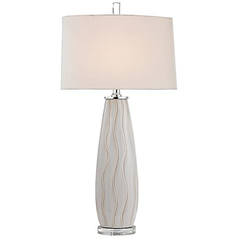 Dimond Andover White Ceramic Table Lamp