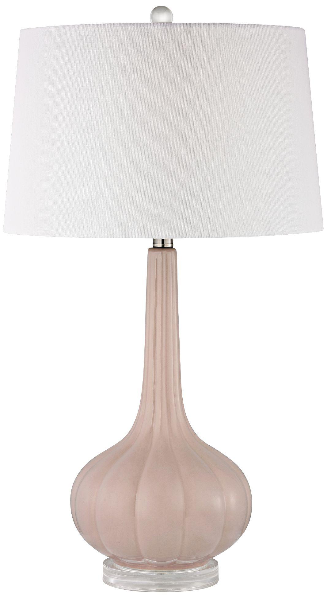 Dimond Abbey Lane Pastel Pink Ceramic Table Lamp